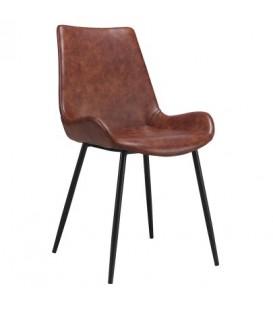 Chaise vintage brune JACY