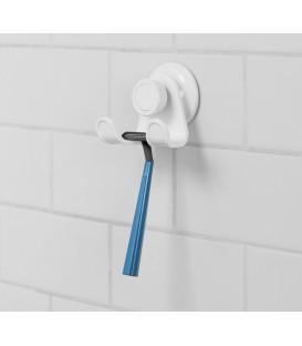 Suction double shower hook FLEX GEL
