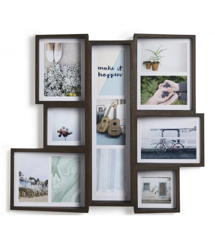 cadre acajou photo multi edge. Black Bedroom Furniture Sets. Home Design Ideas
