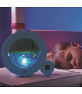 Reveil-matin d'etraînement pour enfant bleu Kid'Sleep