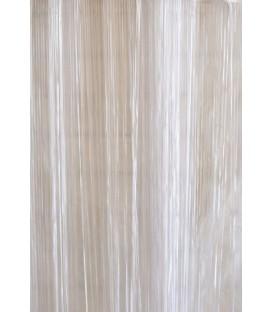 Rideau rubans blancs