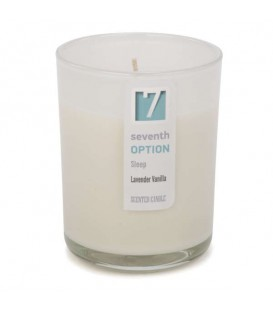 Lavender vanilla scented candle GLASS