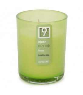 Jasmine and green bamboo scented candle GLASS