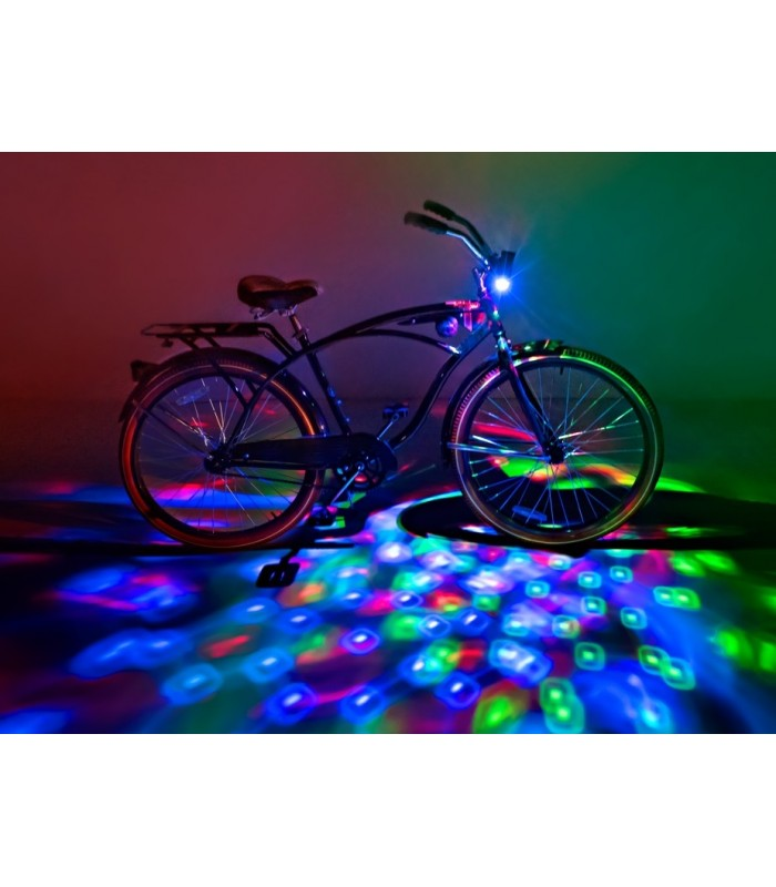 GoBrightz Bicycle Light LED Bicycle Light ABS Plastics//Electronics Red
