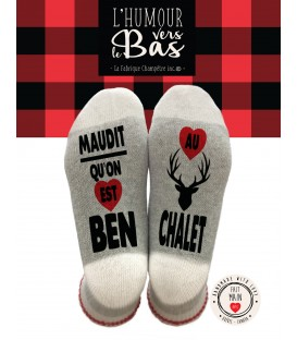 WOOL SOCKS - ben au chalet
