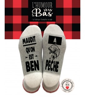 WOOL SOCKS - ben à pêche
