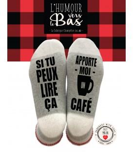 BAS DE LAINE - Si tu peux lire ça Café