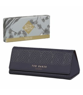 Glasses case cadet blue geo TED BAKER