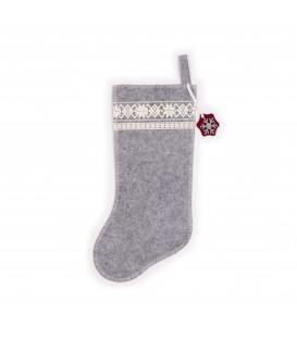 Christmas stocking grey RICARDO