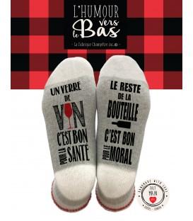 BAS DE LAINE - Un verre de vin