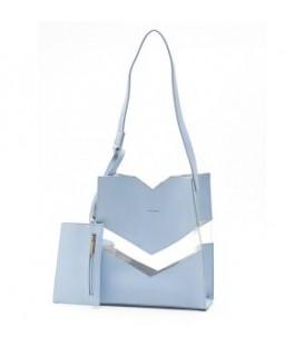 Purse bleu EMILY