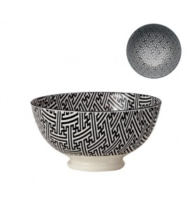 Pocelain bowl BLACK