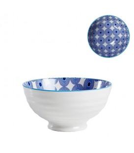 Pocelain bowl BLEUE/WHITE