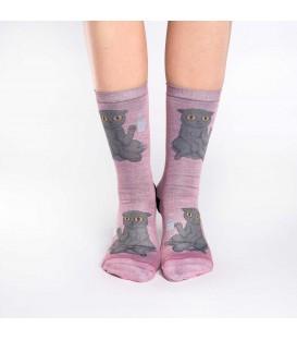 Women's Coffee Cat Socks
