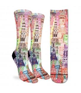 Women's London Towers Socks