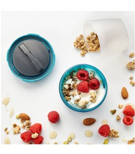 Fuel Yogurt and Granola Container