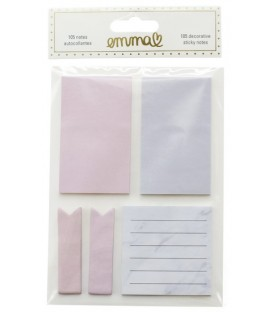Decorative sticky notes EMMA VERDE
