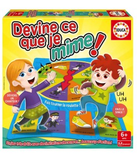 Educa Devine ce que je mime French New Edition