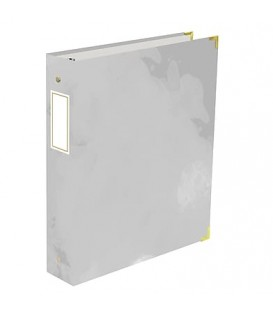 Grey binder 1,5'' EMMA VERDE