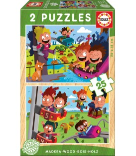 Wooden Puzzles Circus