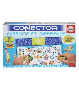 Educa Conector J'associe et j'apprends French Version