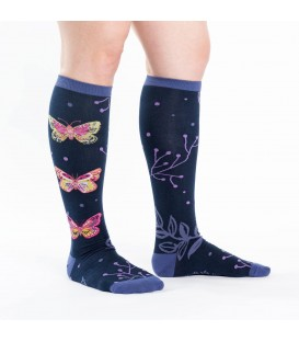 Funky socks madame butterfly