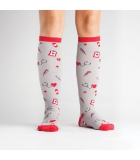 Funky socks nurse