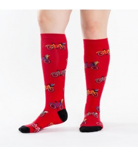 Funky socks tour de neighborhood