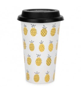 Travel mug ananas