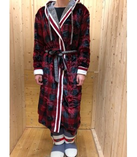 Pook Faux Fur Reversible House Coat
