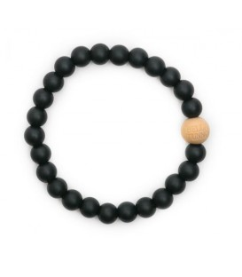 Blakely Black Teething Bracelet