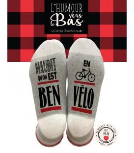 Bas de laine-Ben en vélo