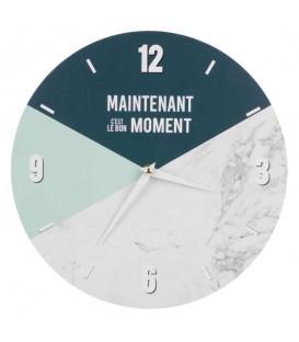 Horloge MAINTENANT C'EST LE BON MOMENT
