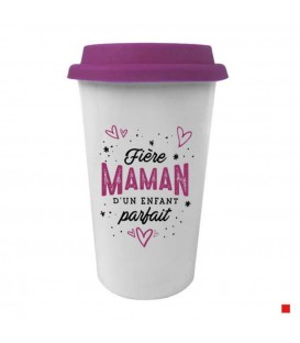 Travel Mug in french ENFANT PARFAIT