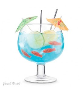 Cocktail fish bowl glass ''Final Touch''
