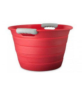 Collapsible silicone beverage bin  ''Final Touch''