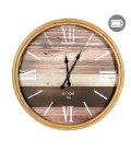 Very large wooden clock