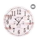 Nautical wooden wall clock