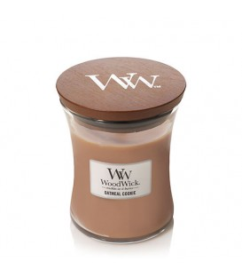 Mediun cracking candle WOODWICK OATMEAL COOKIE
