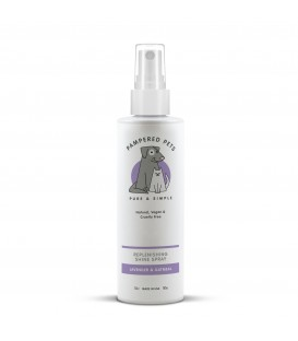 Replenishing shine spray lavender