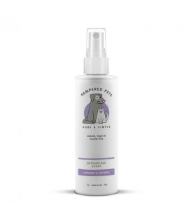 Detangling spray lavender