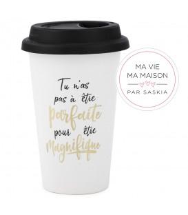 Travel mug-Parfaite et Magnifique Saskia