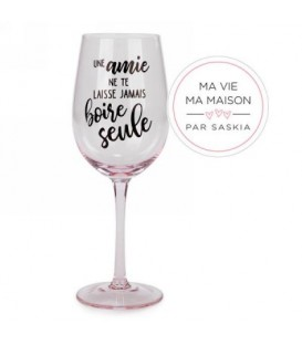 Wine glass- Une Amie Saskia
