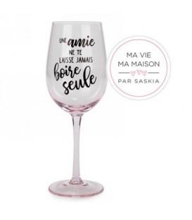 Verre à vin- Une Amie Saskia