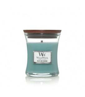 MEDIUM CRACKING CANDLE WOODWICK WOODWICK BLUE JAVA BANANA