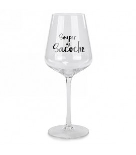 Glass of wine SOUPER DE SACOCHE