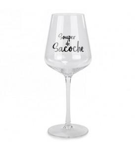 Glass of wine SOUPER DE SACOCHE