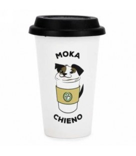 MOKA CHIENO travel mug