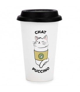 CHATPUCCINO  travel mug