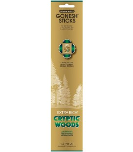 Encens Cryptic Woods paquet de 20